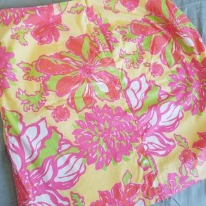 Lilly Pulitzer Skirts - Lilly Pulitzer Pink Lemonade mini skirt